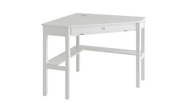 Corner Desk - White - Aiden Lane - Target