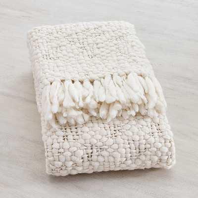 Moab Chunky Knit Throw - Ballard Designs