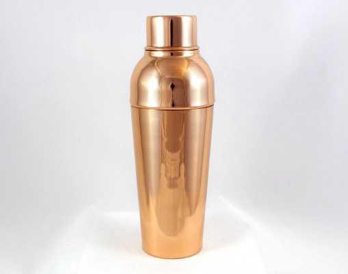3 Piece Copper Cocktail Shaker Set - Wayfair