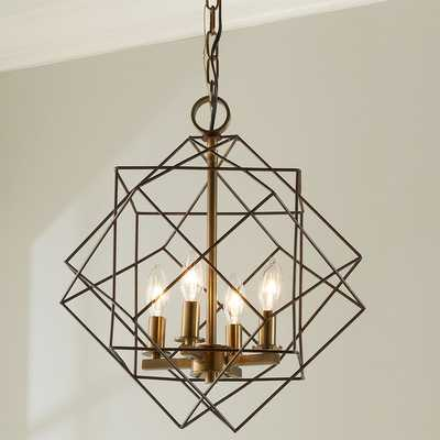 STRUCTURAL CUBIC CAGE LANTERN - Shades of Light