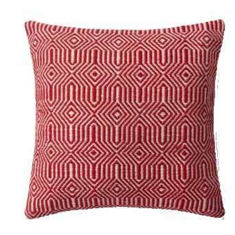 0339 IN/OUT RED / IVORY 100% Polyester India - Loma Threads