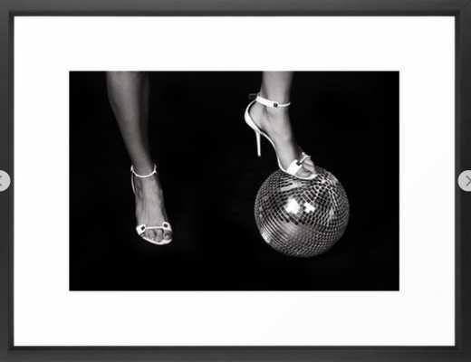 Disco Lies Framed Art Print 20 x 26 - Society6