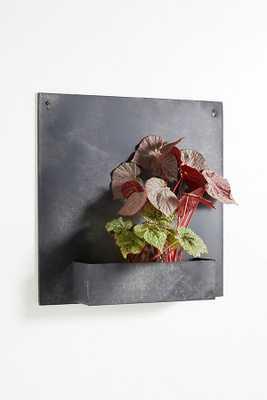 Zinc Wall Planter - 1 Cube - Anthropologie