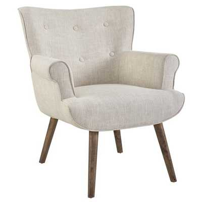 Cloud Upholstered Armchair in Beige - Modway Furniture