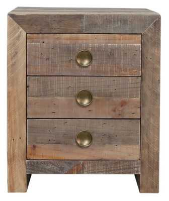 NORMAN 3 DRAWER NIGHTSTAND - Perigold