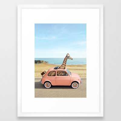 "Italy Framed Art Print, 20"" x 26"" - Society6"