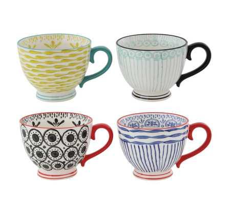 Edelen 4-Piece Mug Set - Wayfair