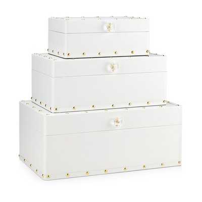 Skye Boxes - Set of 3 - Mercer Collection