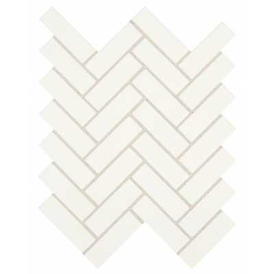Restore Bright White 9 in. x 12 in. x 6.35 mm Ceramic Mosaic Tile - Home Depot