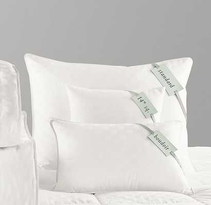 "FEATHER-DOWN PILLOW INSERT: 12""x18"" - RH Baby & Child"