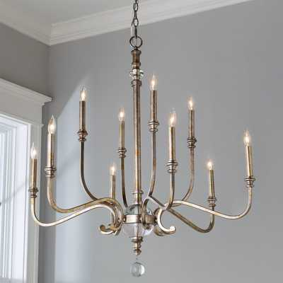 CLASSIC TRADITIONS CRYSTAL CHANDELIER - LARGE - Shades of Light