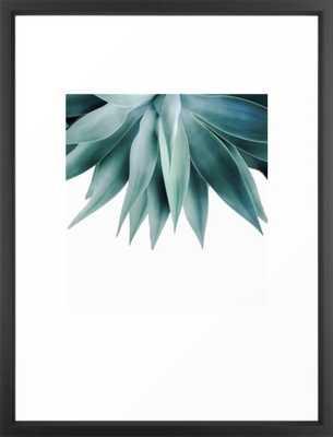 Agave fringe Framed Art Print - Society6