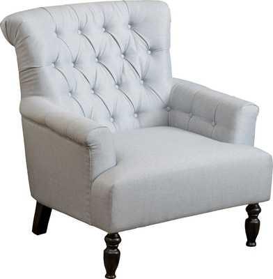 Armchair Light Gray - Wayfair