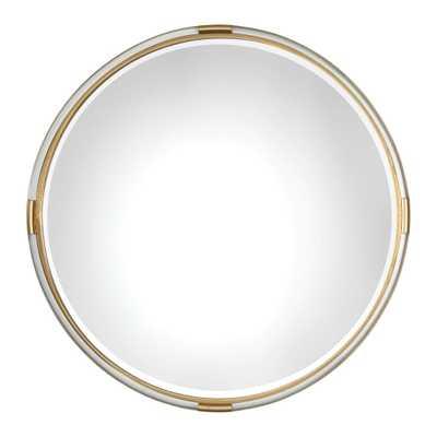 Mackai Round Mirror - Hudsonhill Foundry