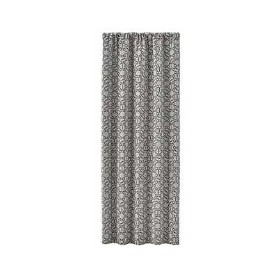 "Roston Geometric Curtain Panel - 50"" x 96"" - Crate and Barrel"