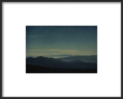 Morning haze - 11'' x 8'' - with matte - Artfully Walls