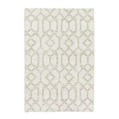 Saylor Indoor/Outdoor Rug - Cream - 7'6 x 9'6 - Ballard Designs