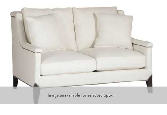 LIAM CAPPED ARM LOVESEAT - Perigold