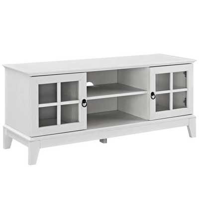 "ISLE 47"" TV STAND IN WHITE - Modway Furniture"