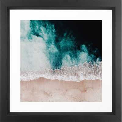 Ocean (Drone Photography) Framed Art Print - Society6