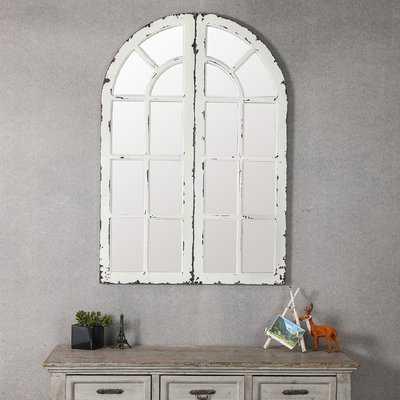 2 PieceHovis Window Panels Cottage Mirror Set (Set of 2) - Wayfair