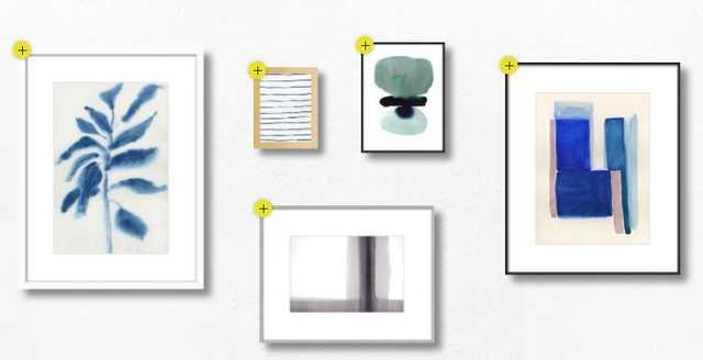 Modern Zen gallery - Artfully Walls