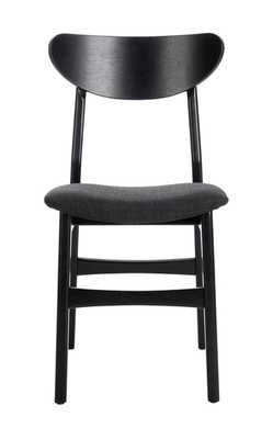 Lucca Retro Dining Chair - Natural/Grey - Arlo Home - Arlo Home