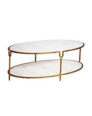 IVORY COFFEE TABLE - McGee & Co.