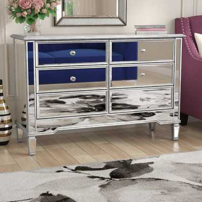 Orpha 6 Drawer Double Dresser - Wayfair