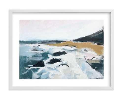 """seafaring framed art print - 24"""" x 18"""" - white wood frame, white border - Minted"""