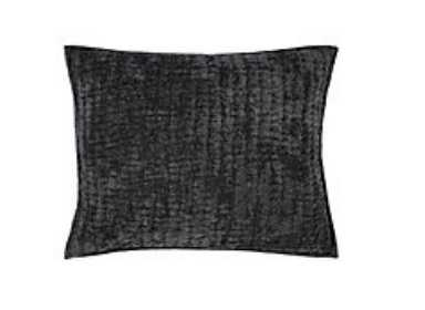 Mardon Bedding, Charcoal, Standard Sham - Z Gallerie