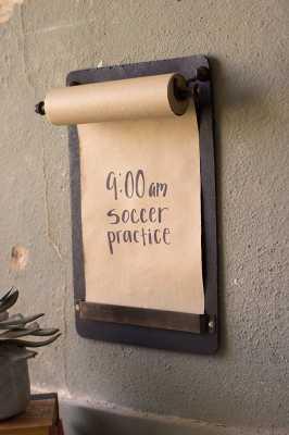 Note Roll Wall Mounted Chalkboard - Wayfair