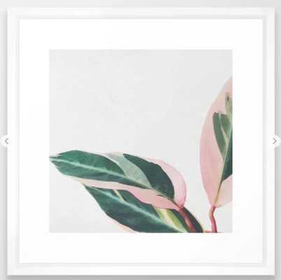 Pink Leaves II Framed Art Print 298 by Cassia Beck - Society6