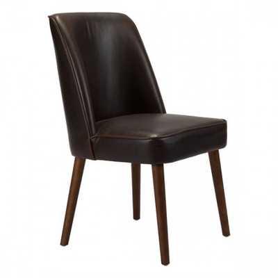 Kennedy Dining Chair Brown, Set of 2 - Zuri Studios