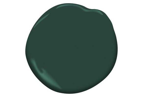 Hunter Green (2041-10), Satin Finish, Gallon Size *NOT FOR PURCHASE* - Benjamin Moore