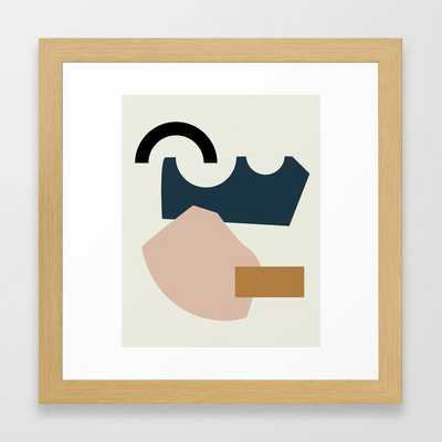 Shape Study #29 - Lola Collection Framed Art Print - Society6
