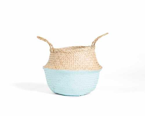 Greta Belly Basket - mint - Rove Concepts