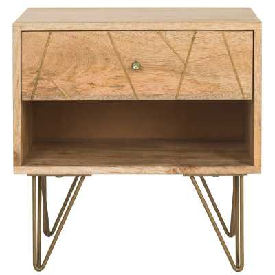 Marigold 1 Drawer Solid Wood Nightstand - Wayfair