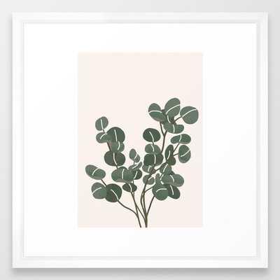 """Little Eucaliptus Framed Art Print - 22x22"""" - Society6"""