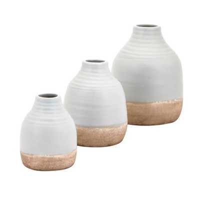 Chloe Vases - Set of 3 - Mercer Collection