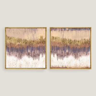 Golden Field Canvas Wall Art with Gold Leaf by World Market - World Market/Cost Plus
