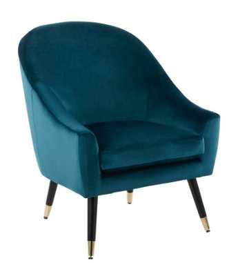 MATISSE ACCENT CHAIR - Teal - Hollis Modern