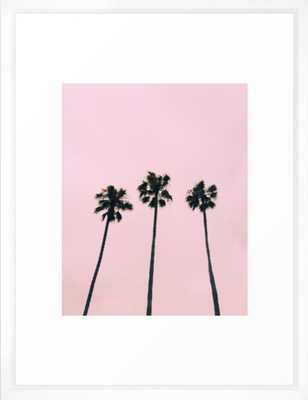 Cali Vibe Framed Art Print - Society6