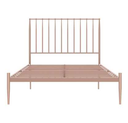 Giulia Modern Metal Bed - Ameriwood Home - Full - Rose Gold - Target