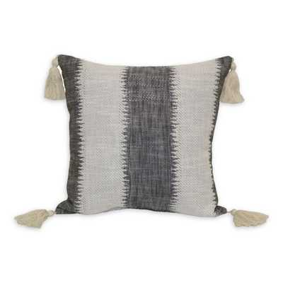 Jungalow by Justina Blakeney Passagio Square Throw Pillow in Black/Natural - Bed Bath & Beyond