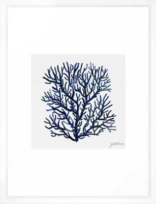 Sea life collection part II Framed Art Print - Society6