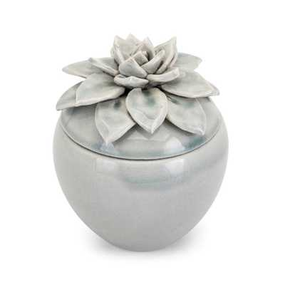 Cici Small Lidded Flower Box - Mercer Collection