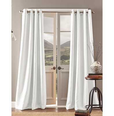 Montanez Solid Room Darkening Grommet Single Curtain Panel - Wayfair
