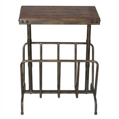 Sonora, Magazine Side Table - Hudsonhill Foundry