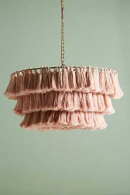Fela Tasseled Chandelier - Anthropologie